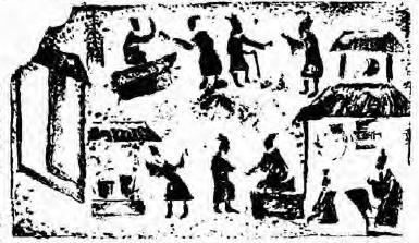 陕西的古代市场[图]